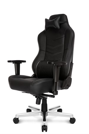 AKRACING ONYX Deluxe - Leather Gaming Chair - Black