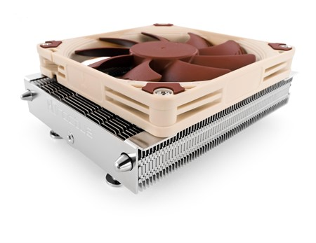 Noctua NH-L9a-AM4 37mm low-profile CPU cooler for AMD Ryzen