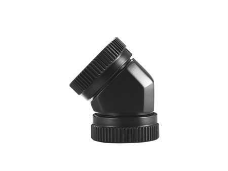 Phanteks 12mm Hard Tube Adapter 45° - Black