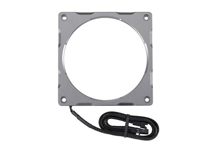 Phanteks Halos Lux 120mm Digital LED Fan Frame, Alum. Anthracite Gray