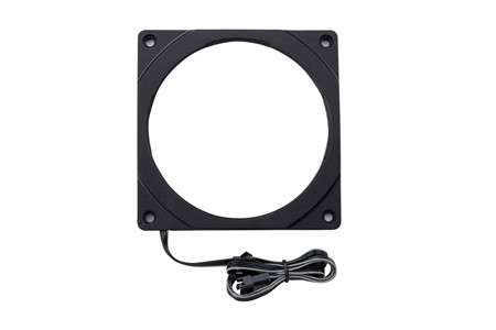 Phanteks Halos 120mm RGB LED Fan Frame, Black
