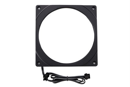 Phanteks Halos 140mm RGB LED Fan Frame, Black