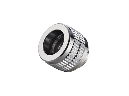 Phanteks 12mm Hard Tube Fitting, G1/4 - Chrome