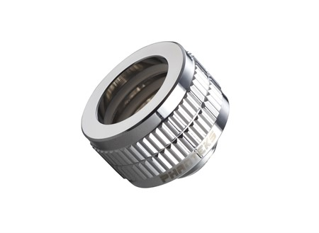 Phanteks 16mm Hard Tube Fitting, G1/4 - Chrome