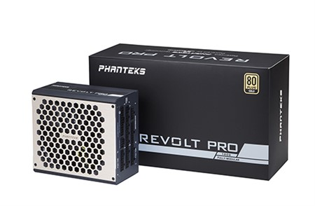 Phanteks Revolt Pro 1000W 80+ Gold, Power Combo, Full Module, PSU