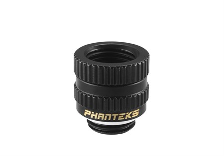 Phanteks M-F Rotary Fitting G1/4 - Black