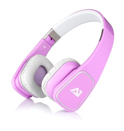 A1 Attitude One Almaz Headphones Pink