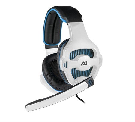 A1 Attitude One Tunguska v7.1 USB Headset - Blue