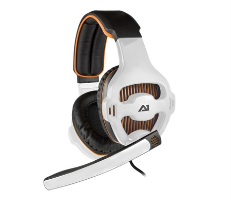A1 Attitude One Tunguska v7.1 USB Headset - Orange