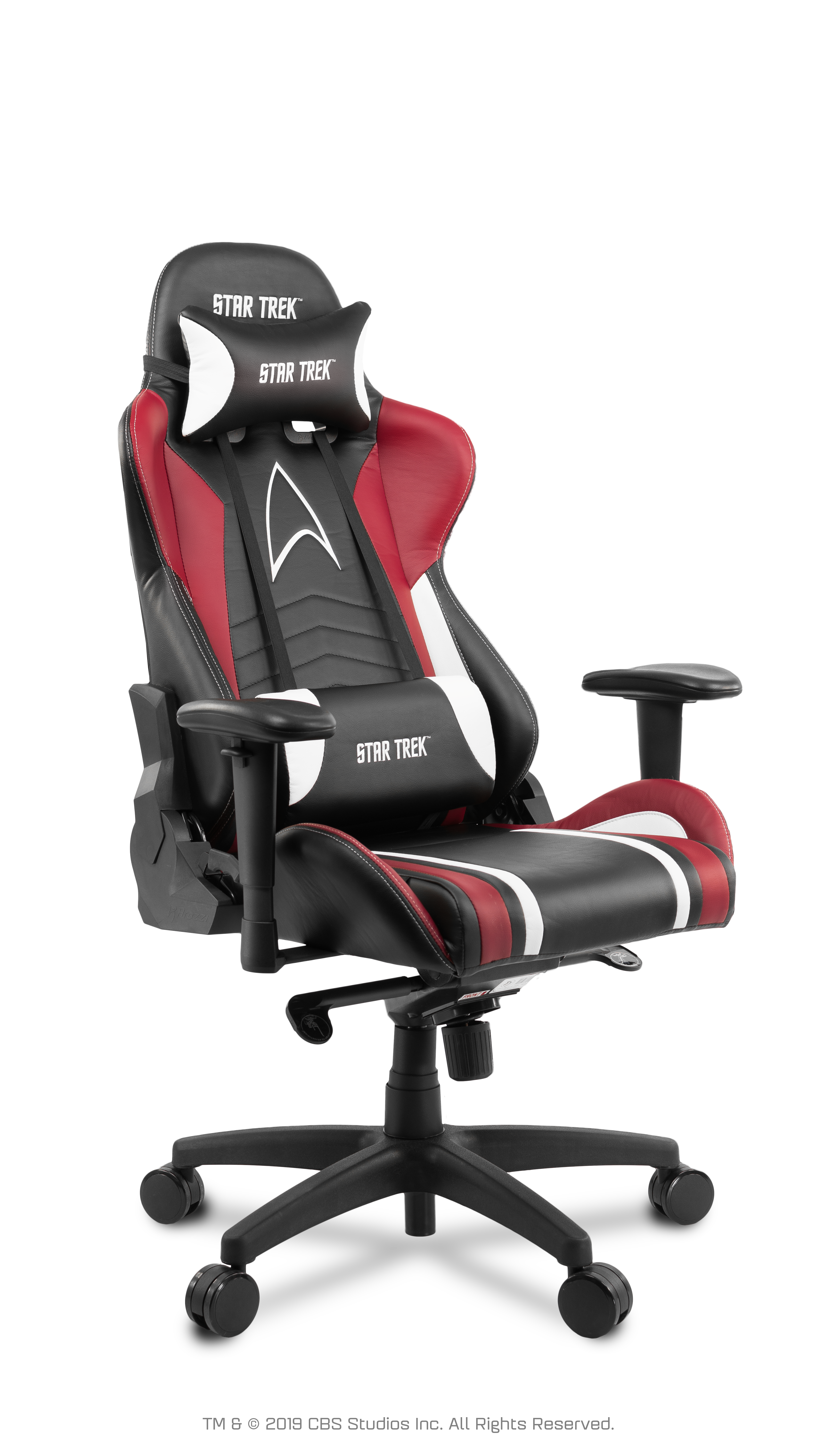Cool Arozzi Gaming Chair Star Trek Edition Red Machost Co Dining Chair Design Ideas Machostcouk