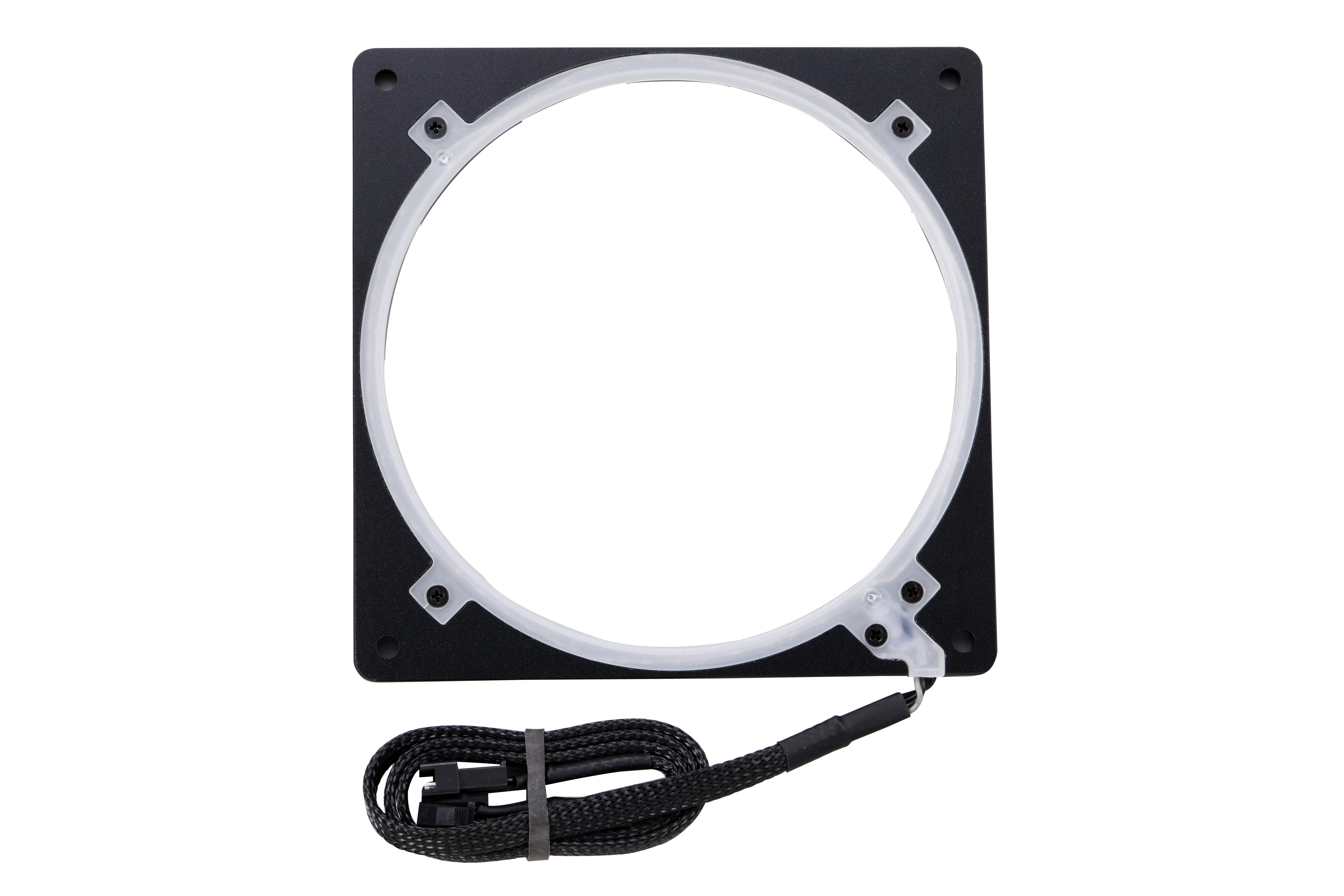Phanteks Halos Lux 140mm Digital LED Fan Frame, Alum  Black